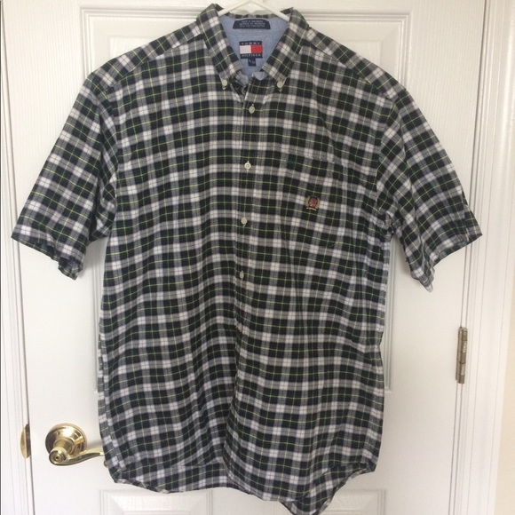 Tommy Hilfiger Other - Tommy Hilfiger Vintage 90s Plaid Button Down Shirt